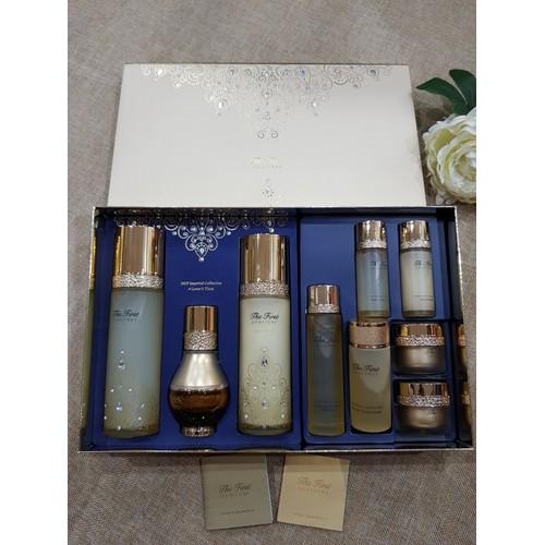 Bộ dưỡng tái sinh da ohui the first geniture special set 9 sản phẩm