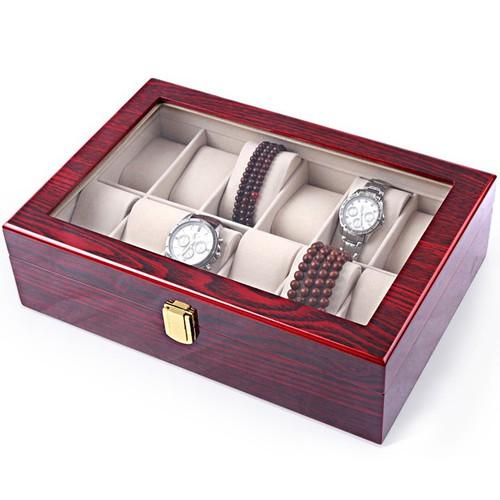Hộp đựng đồng hồ bằng gỗ - 12 ngăn - 12570665 , 20396443 , 15_20396443 , 620000 , Hop-dung-dong-ho-bang-go-12-ngan-15_20396443 , sendo.vn , Hộp đựng đồng hồ bằng gỗ - 12 ngăn