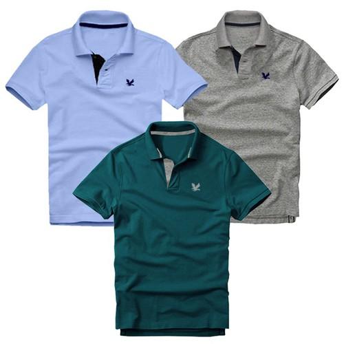 Áo thun nam cổ bẻ logo thêu sắc xảo chuẩn men - combo 3 áo - 12565250 , 20388492 , 15_20388492 , 550000 , Ao-thun-nam-co-be-logo-theu-sac-xao-chuan-men-combo-3-ao-15_20388492 , sendo.vn , Áo thun nam cổ bẻ logo thêu sắc xảo chuẩn men - combo 3 áo