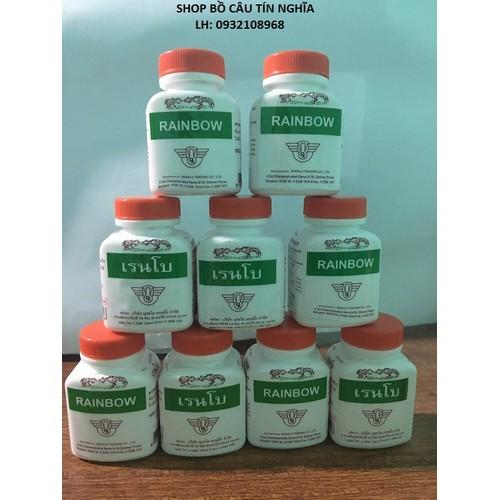 Combo 12 thuốc tăng cơ bắp cho gà chọi gà tre - thuốc gà - thuốc gà thái - thuốc tăng cơ bắp cho gà - rainbow