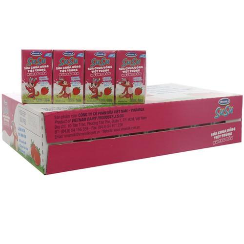 Sp chính hãng  sữa chua uống tiệt trùng vinamilk susu hương dâu thùng 48 hộp x 110ml - 12276170 , 20383959 , 15_20383959 , 185000 , Sp-chinh-hang-sua-chua-uong-tiet-trung-vinamilk-susu-huong-dau-thung-48-hop-x-110ml-15_20383959 , sendo.vn , Sp chính hãng  sữa chua uống tiệt trùng vinamilk susu hương dâu thùng 48 hộp x 110ml