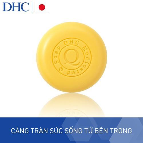 Xà phòng rửa mặt siêu năng dhc q soap 100g