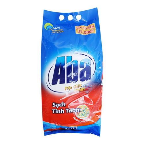 Bột giặt nhiệt aba sạch tinh tươm túi 6kg