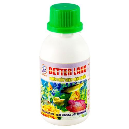 Chai better land phân nước cho cây thuỷ sinh dành cho hồ thủy sinh - thuốcbetter land