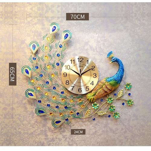 Hera decor Đồng hồ công đậu cành mai