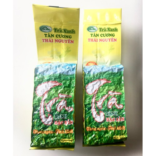 Trà bát tiên - trà tân cương thái nguyên đặc biệt - 400g - trà minh an - trà thái nguyên