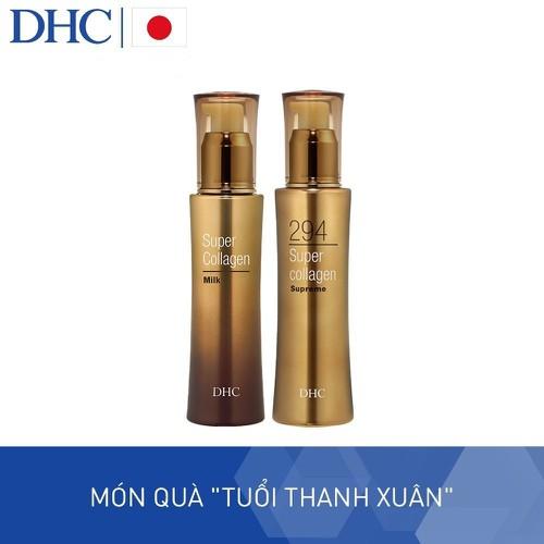 Bộ sản phẩm dhc super collagen tinh chất đậm đặc 294