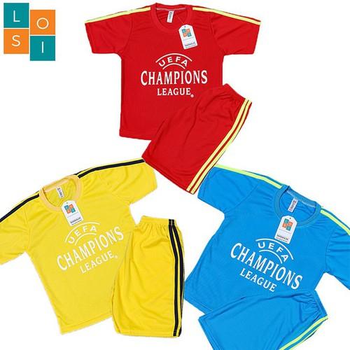 FREESHIP Set 4 bộ đồ thể thao bé trai - Combo 4 bộ đồ quần áo bóng đá cho bé trai từ 16kg - 46kg - vải thun mè thoáng rút mồ hôi nhanh chóng, hàng chuẩn xuất khẩu - LOSI - LSCLDOVAXD - 11361941 , 20385523 , 15_20385523 , 248000 , FREESHIP-Set-4-bo-do-the-thao-be-trai-Combo-4-bo-do-quan-ao-bong-da-cho-be-trai-tu-16kg-46kg-vai-thun-me-thoang-rut-mo-hoi-nhanh-chong-hang-chuan-xuat-khau-LOSI-LSCLDOVAXD-15_20385523 , sendo.vn , FREESHIP