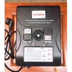 Bộ điều khiển cửa cuốn YH 24V kèm lưu điện