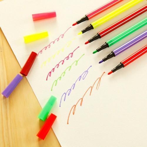 Bộ bút màu 36 món hộp minions - dg-308