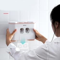 bộ nhả kem đánh răng cao cấp-dụng cụ nhả kem đánh răng-ecoco-đựng bàn chải