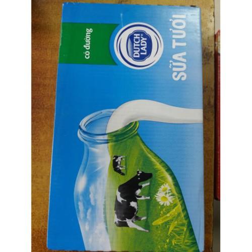 Sp chính hãng  sữa tươi dutch lady - cô gái hà lan 110mlx 48 hộp.