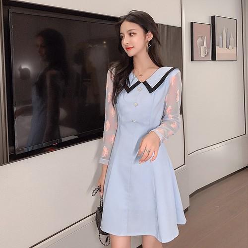 Đầm nữ pha tay voan họa tiết lạ thời trang dễ thương xinh xắn - 12558830 , 20379389 , 15_20379389 , 480000 , Dam-nu-pha-tay-voan-hoa-tiet-la-thoi-trang-de-thuong-xinh-xan-15_20379389 , sendo.vn , Đầm nữ pha tay voan họa tiết lạ thời trang dễ thương xinh xắn