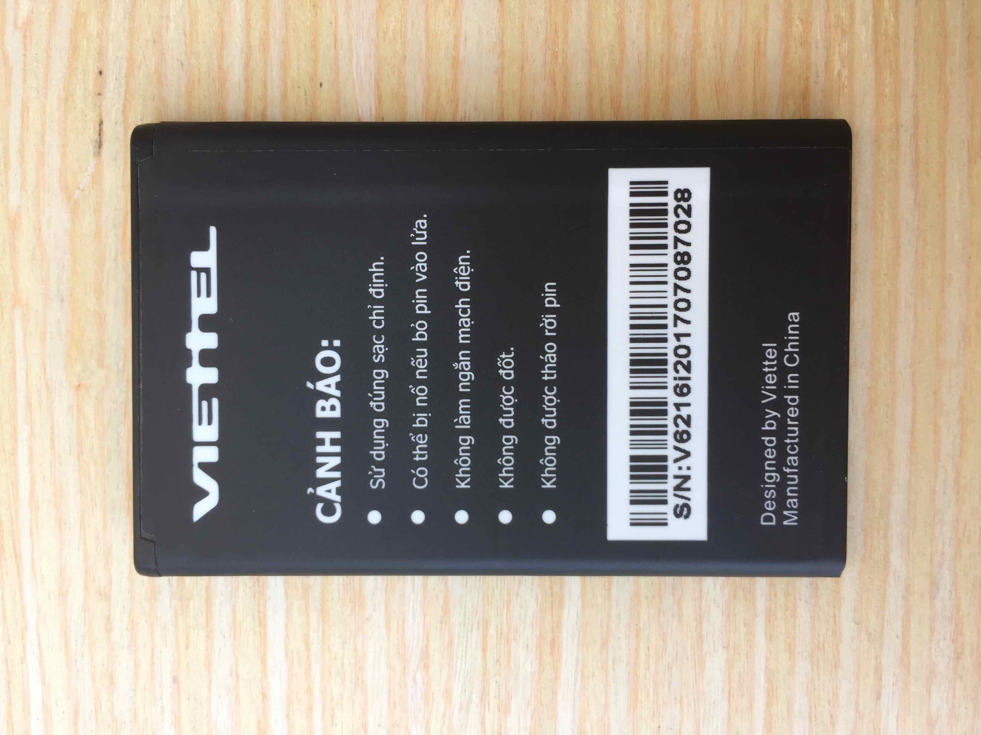 ĐÁNH GIÁ] Pin điện thoại người già Viettel V6216i chính hãng 1000 mAh, Giá  rẻ 120,000đ! Xem đánh giá! - Cửa Hàng Giá Rẻ