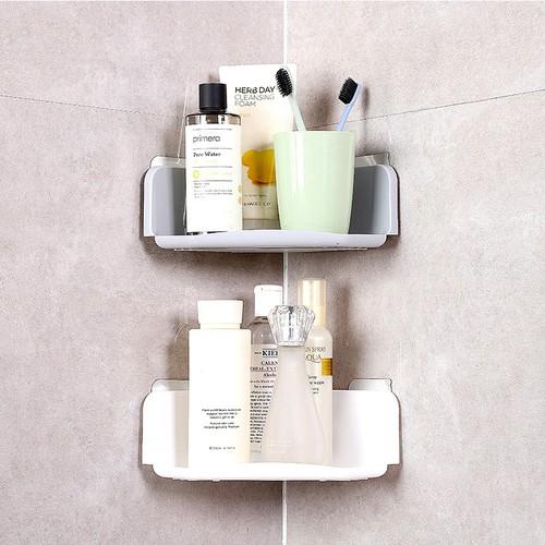 Kệ dán tường phòng tắm hình tam giác