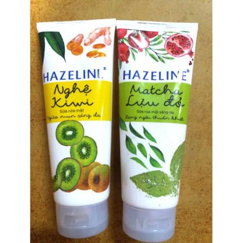 Sp chính hãng  sữa rửa mặt ngừa mụn sáng da hazeline nghệ kiwi & matcha lựu đỏ 100g. - 17605836 , 21913282 , 15_21913282 , 50000 , Sp-chinh-hang-sua-rua-mat-ngua-mun-sang-da-hazeline-nghe-kiwi-matcha-luu-do-100g.-15_21913282 , sendo.vn , Sp chính hãng  sữa rửa mặt ngừa mụn sáng da hazeline nghệ kiwi & matcha lựu đỏ 100g.