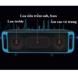 Loa bluetooth mini giá rẻ Sc 208 loa nghe nhạc âm thanh hay không kém loa thùng
