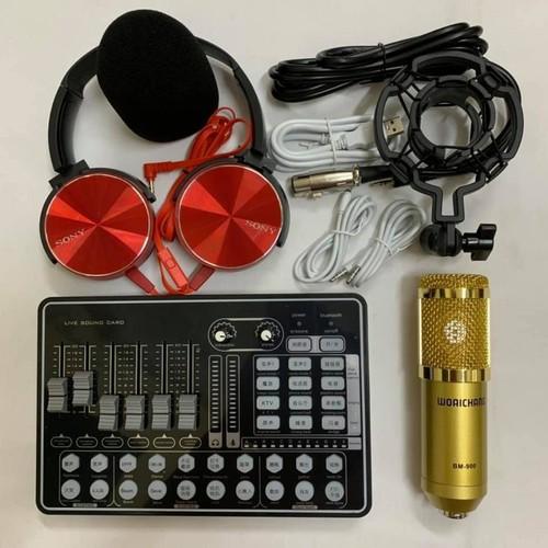 Combo bộ thu âm hát live tream h9 micro bm 900 kèm tai nghe chụp tai mdx 450 - 12571544 , 20397601 , 15_20397601 , 1100000 , Combo-bo-thu-am-hat-live-tream-h9-micro-bm-900-kem-tai-nghe-chup-tai-mdx-450-15_20397601 , sendo.vn , Combo bộ thu âm hát live tream h9 micro bm 900 kèm tai nghe chụp tai mdx 450