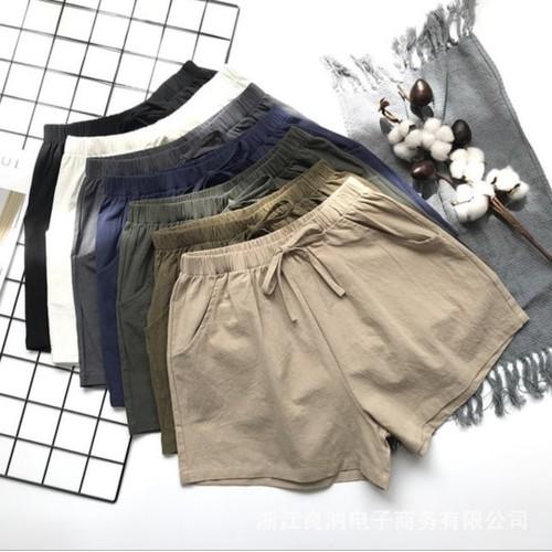 Quần short đũi xuất nhật - quần short đũi ống rộng