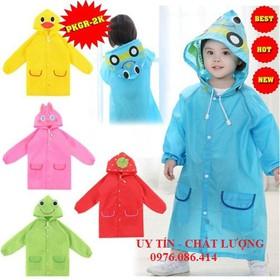 Áo mưa trẻ em hình thú - AMTE