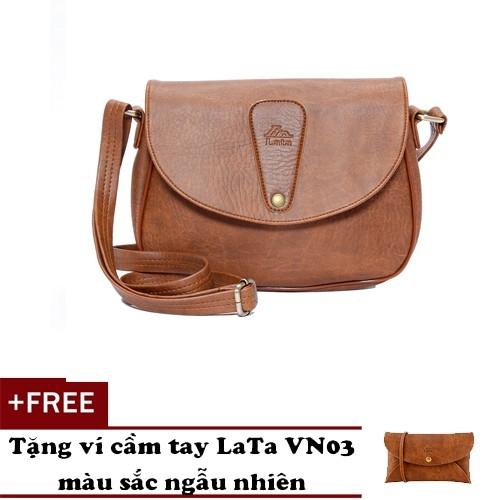 Túi đeo chéo nữ LATA HN15 tặng ví cầm tay LATA VN03