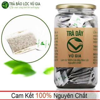Trà Dây Túi Lọc Nguyên Chất Bảo Lộc Vũ Gia [30 gói-hộp] - Điều trị bệnh đau dạ dày, hỗ trợ tiêu hóa, ăn ngon miệng và ngủ sâu giấc - TDTL30 thumbnail