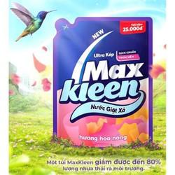 Nước giặt Maxkleen hương hoa nắng túi 2400ml