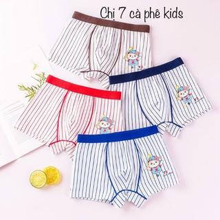 quần lót trẻ em combo 5 quần - quần sịp bé trai cao cấp đủ size