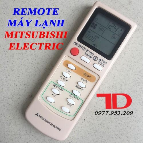 Remote máy lạnh mitsubishi electric mẫu mới