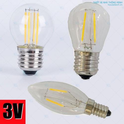 Bóng đèn led edison 3v