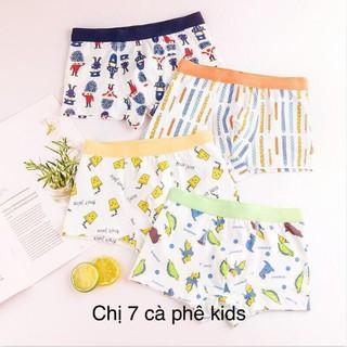 quần lót bé trai combo 5 quần - quần sip trẻ em cao cấp