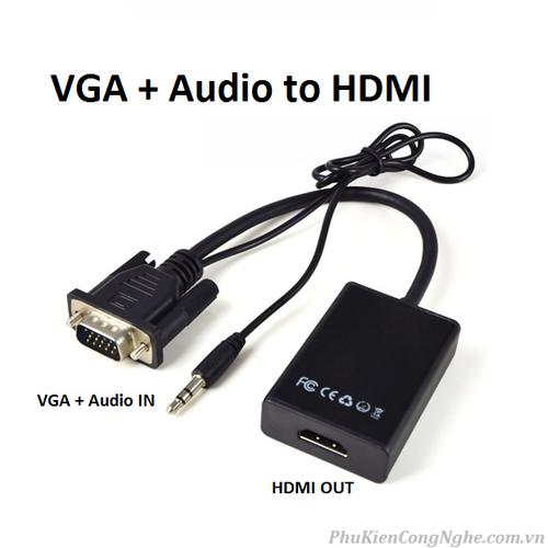 Bộ cáp chuyển đổi tín hiệu từ vga sang hdmi có âm thanh kèm theo cáp micro usb - 12034665 , 19648735 , 15_19648735 , 109000 , Bo-cap-chuyen-doi-tin-hieu-tu-vga-sang-hdmi-co-am-thanh-kem-theo-cap-micro-usb-15_19648735 , sendo.vn , Bộ cáp chuyển đổi tín hiệu từ vga sang hdmi có âm thanh kèm theo cáp micro usb