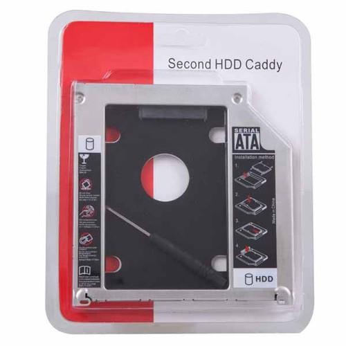 Khay đựng ổ cứng cho laptop caddy bay mỏng 9.5mm - 17283467 , 19659492 , 15_19659492 , 100000 , Khay-dung-o-cung-cho-laptop-caddy-bay-mong-9.5mm-15_19659492 , sendo.vn , Khay đựng ổ cứng cho laptop caddy bay mỏng 9.5mm