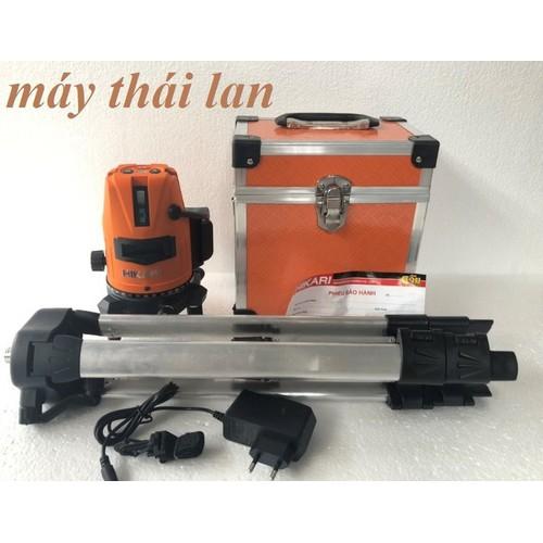 Máy cân bằng laser hikari sl-5x, máy cân mực laser xanh, may ban cot xay dung