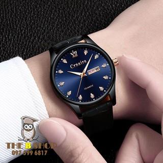đồng hồ nam dây da - đồng hồ nam dây da Cr101 thumbnail