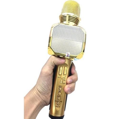 Mic hát kara di động - mic hát bluetooth