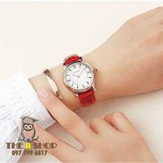 đồng hồ nữ dây da - đồng hồ nữ dây da S601 thumbnail