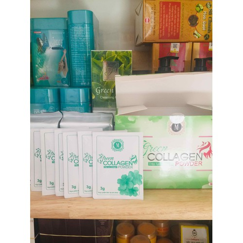 Diệp lục collagen - 5 gói chính hãng