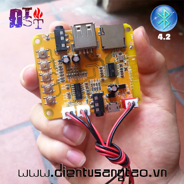 Mạch MP3 Bluetooth 4.2 + USB + MicroSD Bản cao cấp