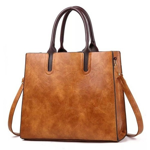 Túi xách tay đeo chéo nữ  hàn quốc dáng túi đứng size 32x28x12cm, màu sắc: da bò - đen - đỏ