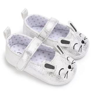 Giày tập đi búp bê cho bé gái 0-18 tháng hình thỏ đáng yêu BBShine TD18 - TD18 thumbnail