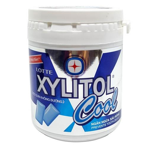 Kẹo gum không đường lotte xylitol cool hũ 145g - 12051516 , 19673492 , 15_19673492 , 66000 , Keo-gum-khong-duong-lotte-xylitol-cool-hu-145g-15_19673492 , sendo.vn , Kẹo gum không đường lotte xylitol cool hũ 145g