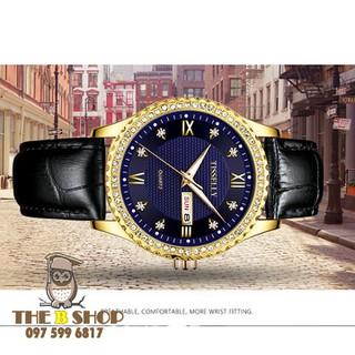 đồng hồ nam dây da - đồng hồ nam dây da TS706 thumbnail