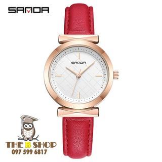 đồng hồ nữ dây da - đồng hồ nữ dây da S701 thumbnail