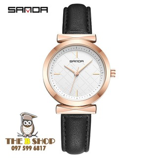 đồng hồ nữ dây da - đồng hồ nữ dây da S703 thumbnail