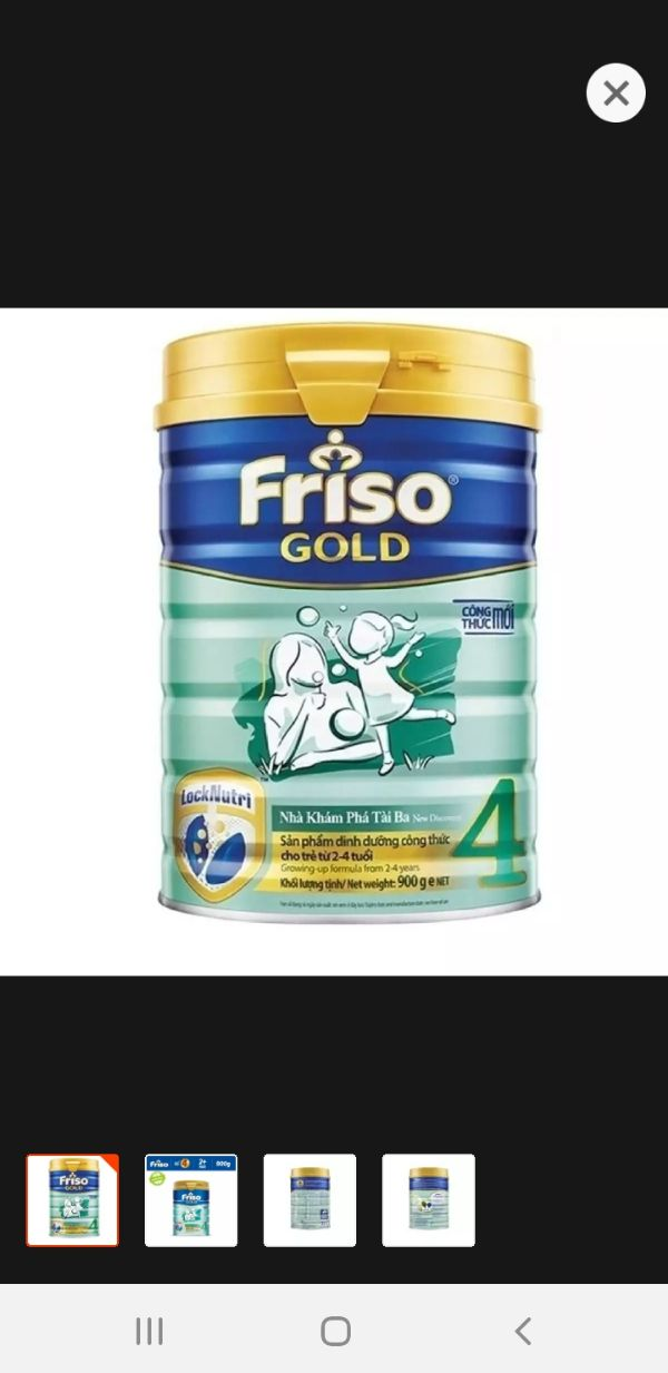 sữa bột frisolac gold hộp 900g
