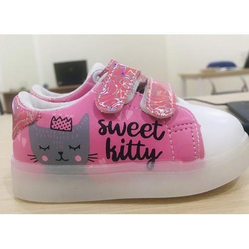 Giày hello kitty có đèn
