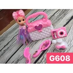 Túi xách búp barbie cho bé siêu dễ thương