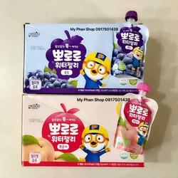 Thạch trái cây nghiền cho bé Paldo Pororo Hàn Quốc