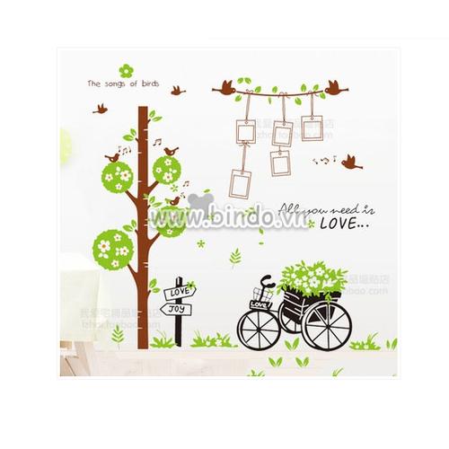 Bộ combo decal ghép đôi trang trí - cây khung hình kết hợp xe đạp giỏ hoa -2 tấm - 12051895 , 19674203 , 15_19674203 , 95000 , Bo-combo-decal-ghep-doi-trang-tri-cay-khung-hinh-ket-hop-xe-dap-gio-hoa-2-tam-15_19674203 , sendo.vn , Bộ combo decal ghép đôi trang trí - cây khung hình kết hợp xe đạp giỏ hoa -2 tấm